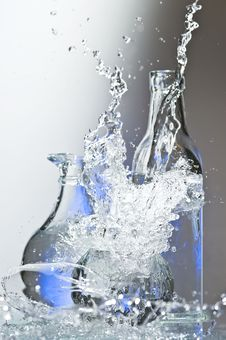 Free Glasses With Water Royalty Free Stock Photo - 8506995