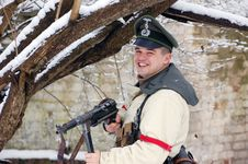 Free German Officer Of WW2 Royalty Free Stock Photos - 8507358