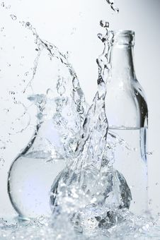 Free Glasses With Water Royalty Free Stock Photo - 8507375