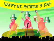 Free Happy St. Patrick`s Day Royalty Free Stock Photo - 8507415