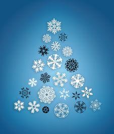 Free Snowflake Tree Stock Image - 8507591