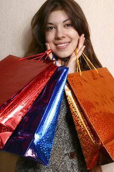 Free Shopping. Royalty Free Stock Photo - 8507605