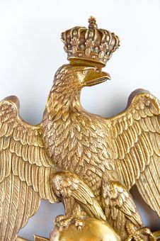 Free Bronze Eagle Close-up Royalty Free Stock Photos - 8507748