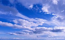 Free White Clouds Royalty Free Stock Photo - 8508205