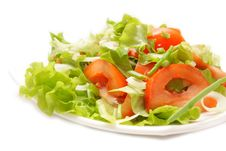 Free Fresh Salad With Tomato Royalty Free Stock Images - 8508369