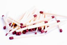 Free Pile Of Matches Royalty Free Stock Photography - 8508477