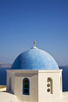 Free Greek Church Stock Photography - 8508542