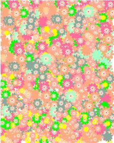 Free Colorful Floral Background Royalty Free Stock Photos - 8508568