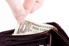Free Spending Money Stock Image - 8509241