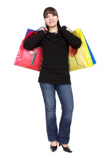 Free Shopping Royalty Free Stock Photo - 8509475