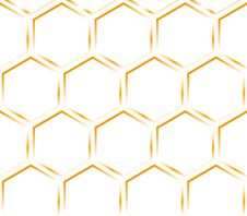 Free Hexagon Orange Texture. Pattern. Royalty Free Stock Photos - 8509638