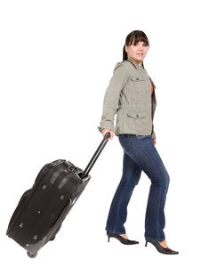 Free Travelling Woman Stock Image - 8509701