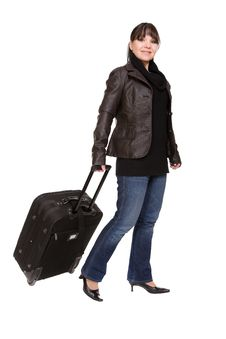 Free Travelling Woman Stock Images - 8509734