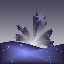 Free Splash Of Stars Stock Image - 8509921
