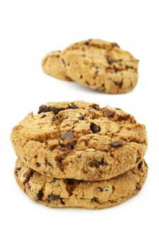 Free Chocolate Chip Cookies Royalty Free Stock Images - 8509989