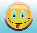 Free Happy Smile Button Stock Photo - 8512440