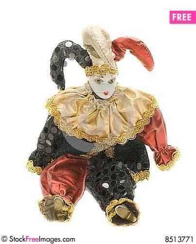 Free Harlequin Doll Stock Image - 8513771