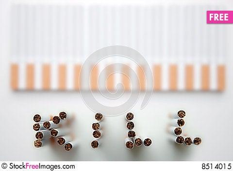 Free Smoking Kills Royalty Free Stock Photo - 8514015