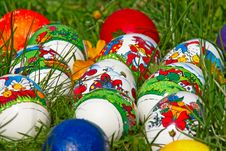 Free Easter Eggs In Grass Royalty Free Stock Photo - 8510015