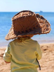 Free Child In A Stetson Royalty Free Stock Photo - 8510045