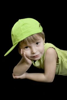 Cool Kid Royalty Free Stock Photos