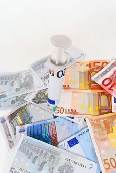 Free Sick Euro Stock Images - 8510324