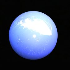Abstract Blue Sphere Stock Images