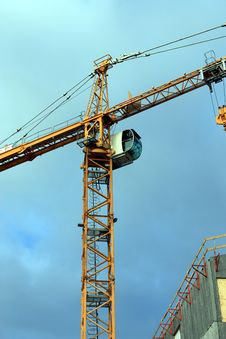 Free Crane Stock Photography - 8511402