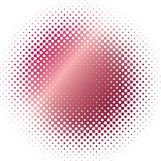 Free Red Halftone Blur Shining And Metal Royalty Free Stock Photos - 8511428
