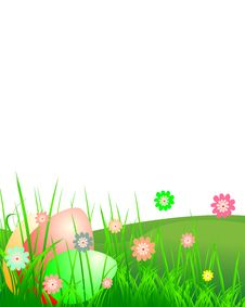 Free Easter Landscape Royalty Free Stock Photos - 8511438