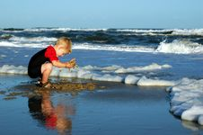 Free Beach Play Stock Photography - 8511992