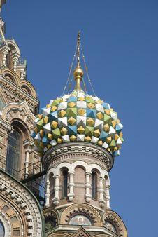 Free Spasa Na Krovi Cathedral Royalty Free Stock Image - 8512036