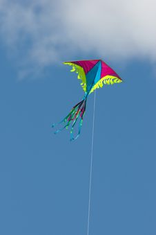 Free Kite In Sky Royalty Free Stock Photography - 8512107
