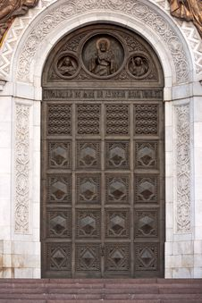 Free Door To Cathedral Royalty Free Stock Images - 8512309