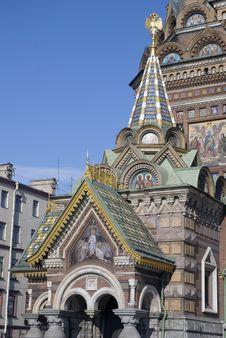 Free Spasa Na Krovi Cathedral Royalty Free Stock Photography - 8512457