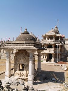 Jain Temple In Ranakpur Royalty Free Stock Photography