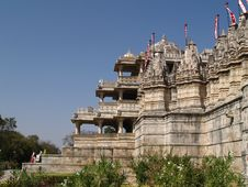 Jain Temple In Ranakpur Royalty Free Stock Photos