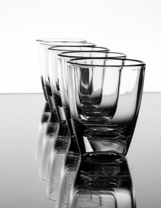 Free Liquor-glasses Royalty Free Stock Photography - 8513217