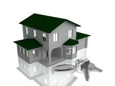 Free The House And Keys Stock Photo - 8513240