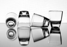 Free Liquor-glasses Royalty Free Stock Image - 8513376