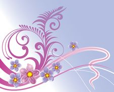 Free Floral Background Stock Image - 8513401