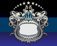 Heraldic Sign Stock Image