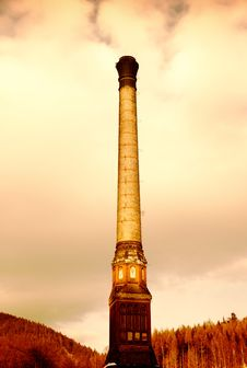 Free Factory Chimney Stock Photos - 8514033