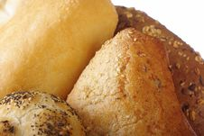 Free Fresh Bread With Grain Royalty Free Stock Photos - 8514258