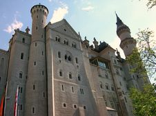 Free Neuschwanstein Castle Royalty Free Stock Photography - 8514317