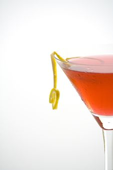 Fresh Glass Cool Cocktail Stock Image