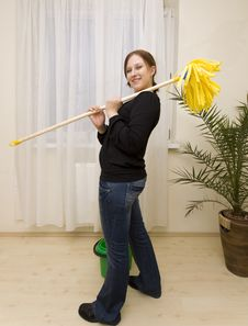 Free House Cleaning Royalty Free Stock Photo - 8514875
