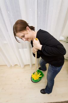 Free House Cleaning Stock Image - 8514881