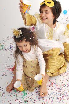 Confetti!! Stock Photo
