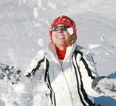 Free Winter Fun Royalty Free Stock Image - 8515286